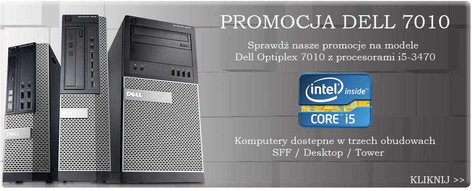 Poleasingowy Dell Optiplex 7010