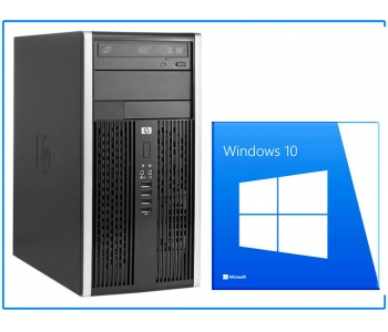 HP 6300 G2020 2,9GHz / 4GB / 500GB / DVD / TOWER / 4x USB 3.0 / Windows 10